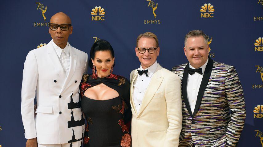 """Die Jury von """"RuPaul's Dragrace"""" bei den Emmy Awards"""