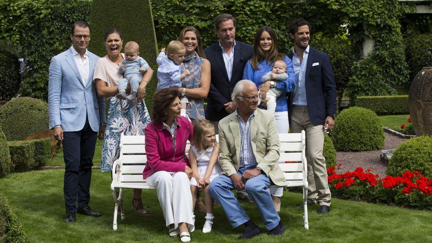 Die Schweden-Royals bei einem Familien-Shooting