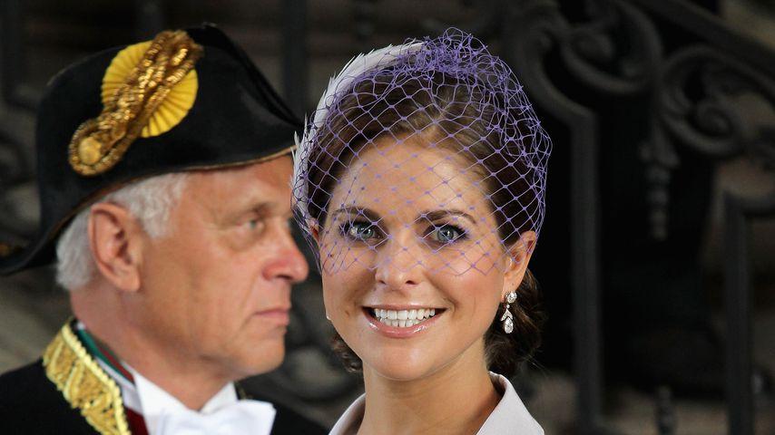 Die schwedische Prinzessin Madeleine im Mai 2012 in Stockholm
