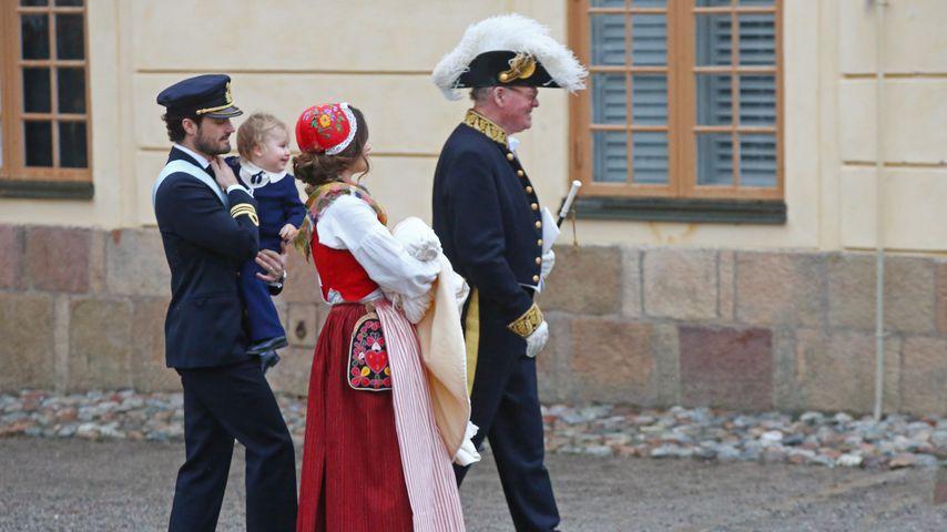 Prinz Carl Philip, Prinz Alexander, Prinzessin Sofia und Prinz Gabriel von Schweden