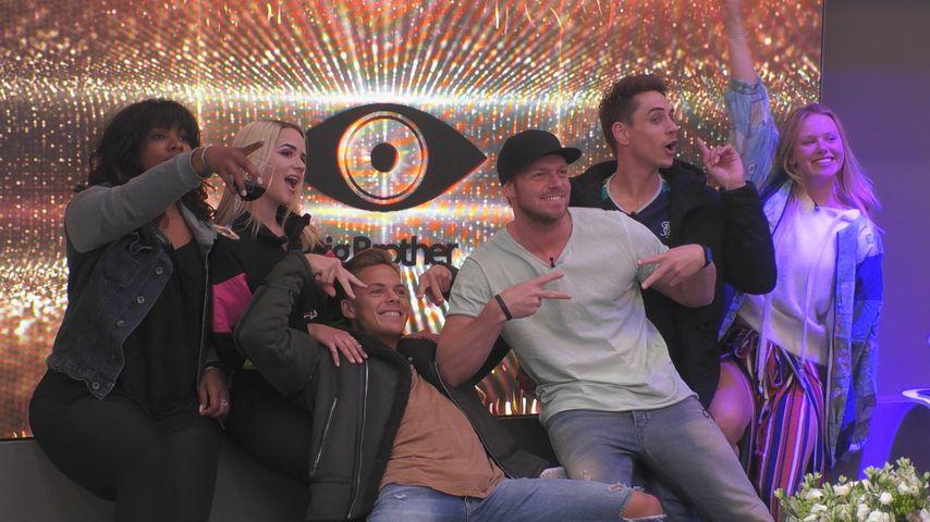 """Die sechs Finalisten von """"Big Brother"""""""