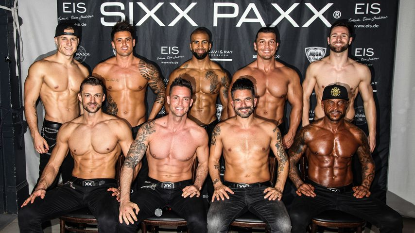 Die SixxPaxx bei einem Auftritt in Görlitz