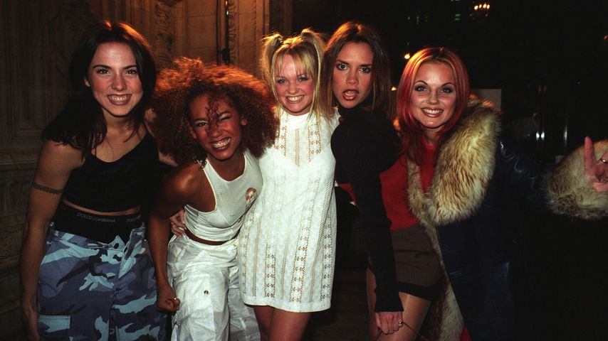 Die Spice Girls bei den National TV Awards 1996