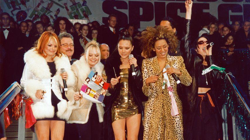 Die Spice Girls in Düsseldorf
