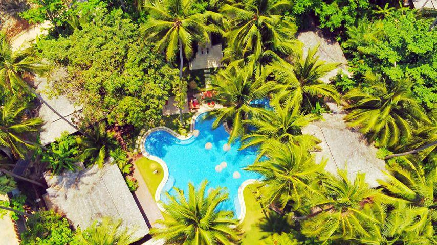 """Die """"Bachelor in Paradise""""-Villa in Thailand von oben"""