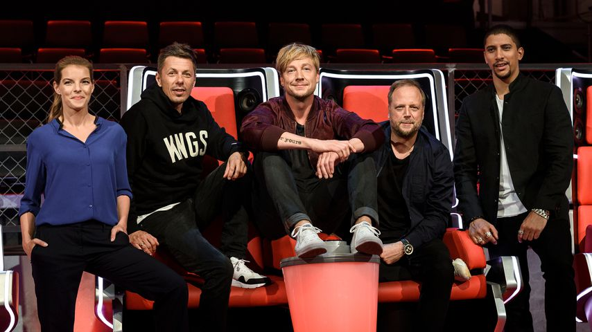 """Die """"The Voice"""" Jury 2016: Y. Catterfeld, M. Beck, S. Haber, Smudo, A. Bourani"""
