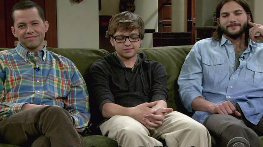 Ashton Kutcher, Angus Turner Jones und Jon Cryer