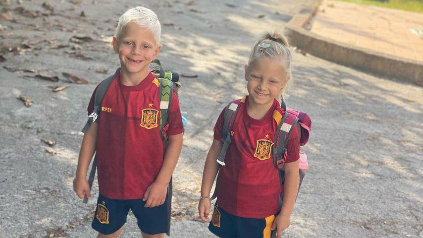 Danni Büchners Kinder Diego und Jenna