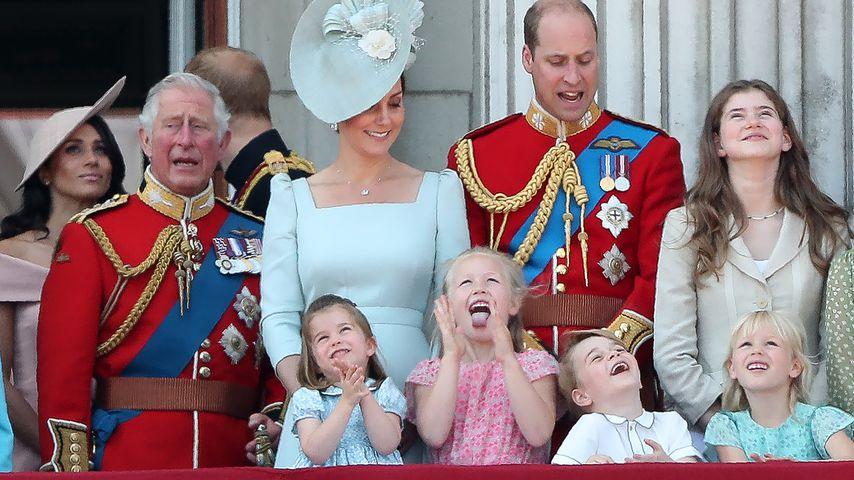 Die Royals auf dem Balkon des Buckingham Palace