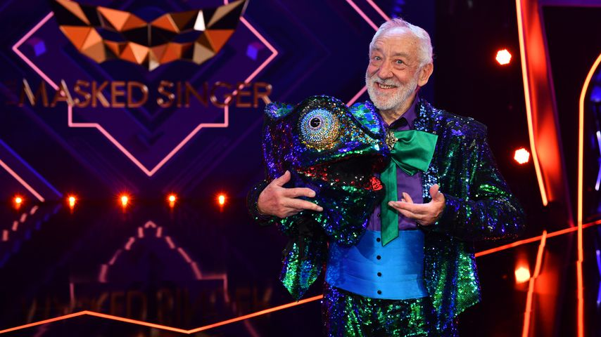 "Dieter Hallervorden bei ""The Masked Singer"" im April 2020"