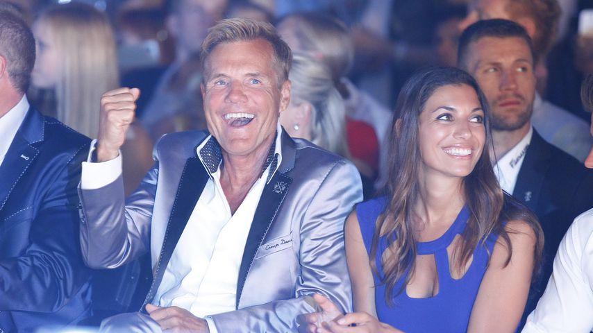 Dieter Bohlen und Carina Walz beim Soccx Store Opening in Rust