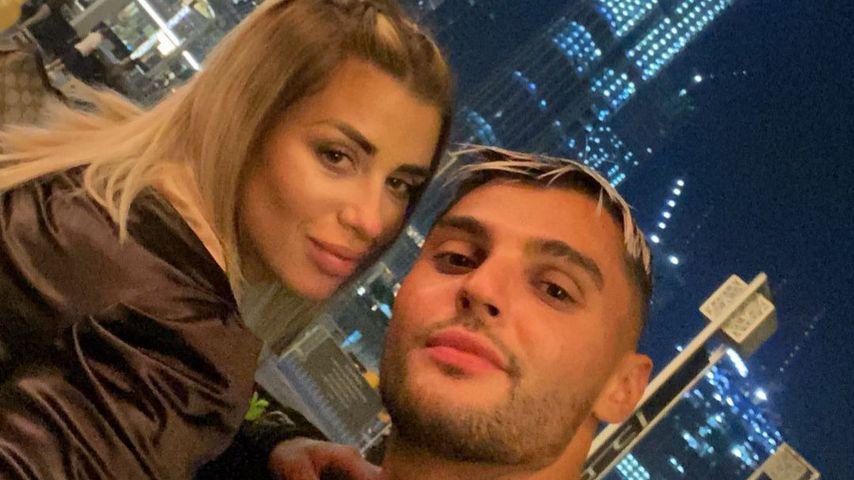 Dijana und Marcellino in Dubai, November 2020