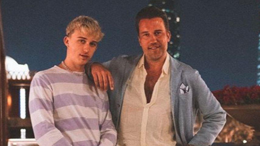 DJ Antoine und sein Sohn Sebastian Konrad