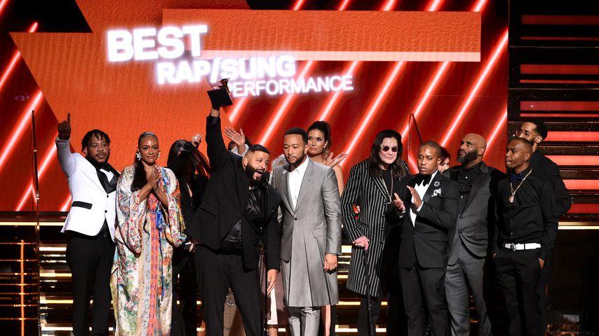 DJ Khaled bei den Grammys in LA. im Januar 2020
