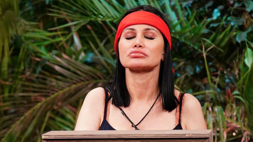 Djamila Rowe in der Dschungelshow