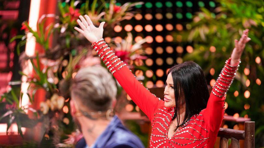 Djamila Rowe im Dschungelshow-Finale