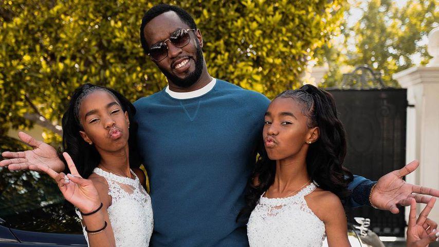 Nach Kim Porters Tod: Twins feiern Schulabschluss mit Diddy!
