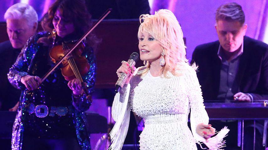 Dolly Parton bei einer  Performance, 2019