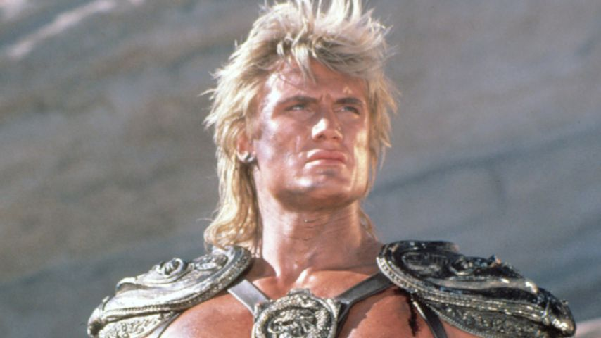 "Dolph Lundgren als He-Man in ""Masters of the Universe"", 1987"