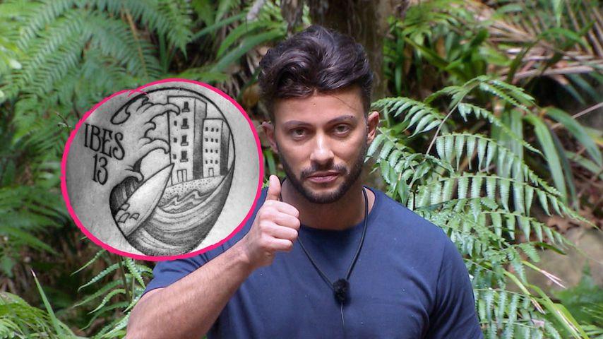 Wie Evelyns & Felix' Begleitung: Domenico hat IBES-Tattoo!