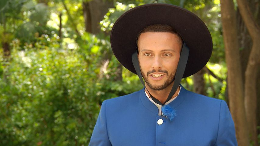 """Bachelorette""-Kandidat Domenico in andalusischer Tracht"