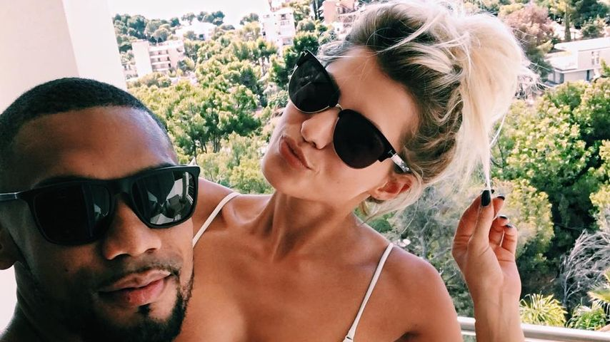 Dominic Harrison und Sarah Nowak im Urlaub