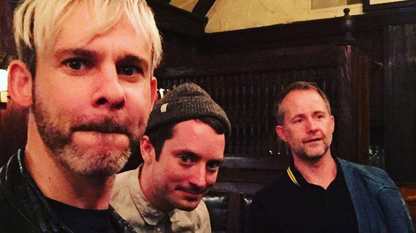 Dominic Monaghan, Elijah Wood und Billy Boyd