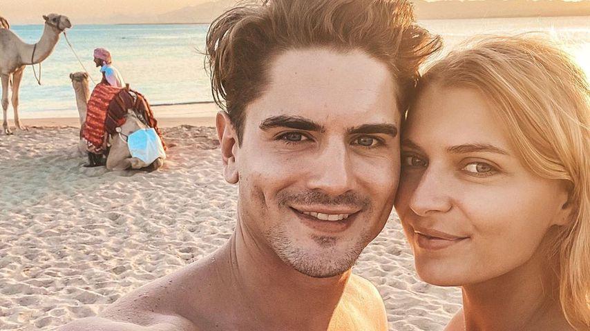 Dominik Bruntner und Jolina Fust im Februar 2020