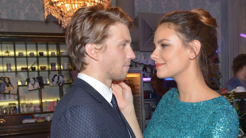 Janina Uhse und Raúl Richter