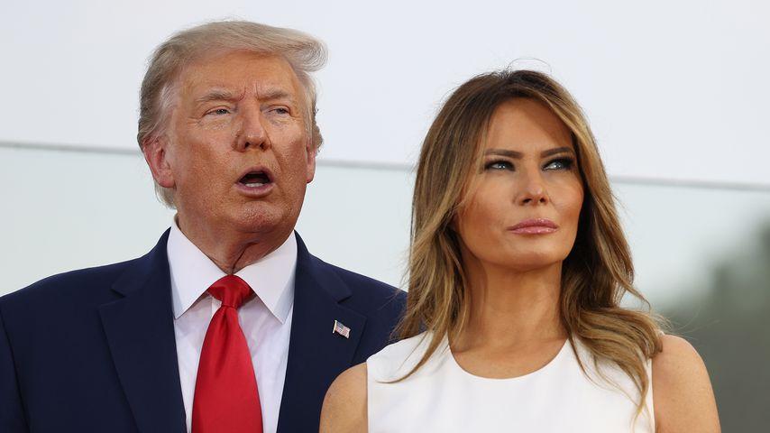 Déjà-vu? Melania verweigert Donald Trump wieder ihre Hand