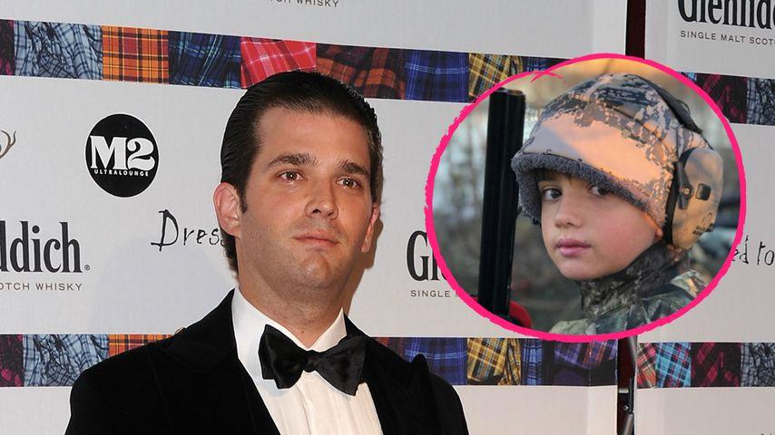 Sohn posiert mit Schusswaffe: Shitstorm für Donald Trump Jr.