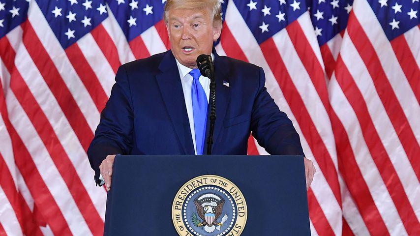 Trump erklärt sich schon zum Wahlsieger: US-Stars sind sauer