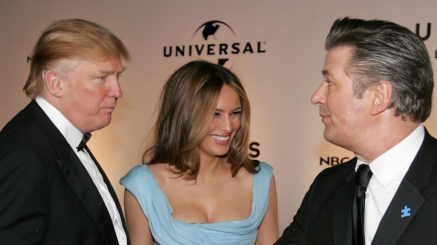 Donald Trump und Alec Baldwin in Beverly Hills