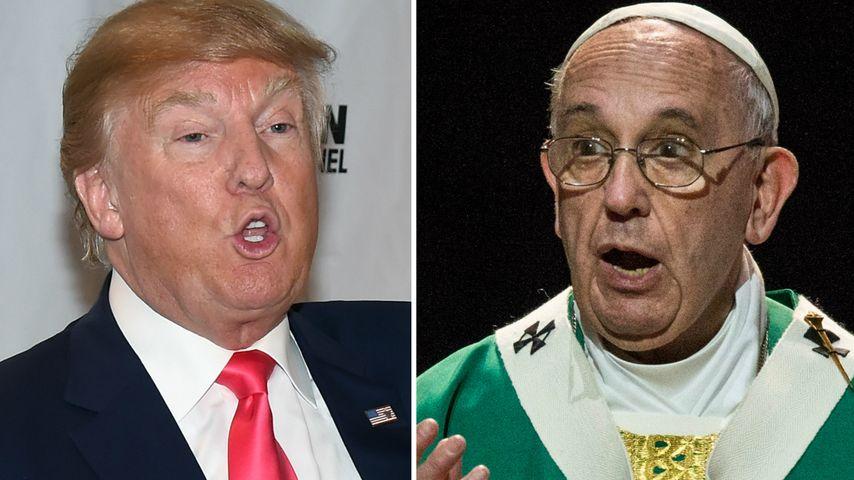 Nach Diss vom Papst: Donald Trump schießt zurück!