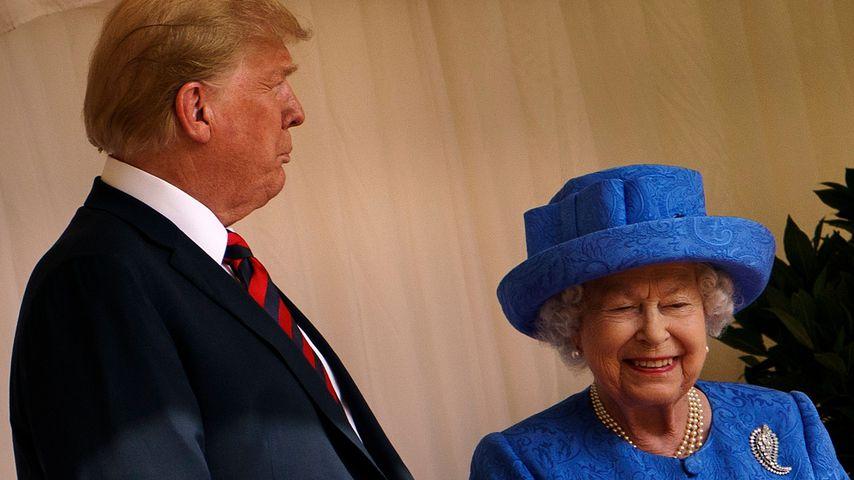 Besuch in London: Trump darf nicht bei der Queen schlafen