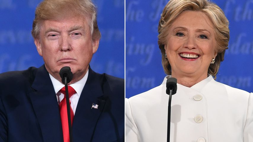 Donald Trump vs. Hillary Clinton: Für wen voten die Stars?