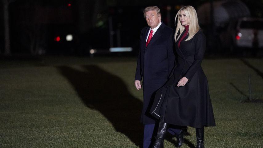 Donald Trump und Ivanka Trump