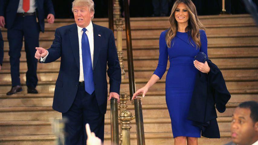 """Vandalismus gegen Trump: Stern am """"Walk of Fame"""" zerstört"""