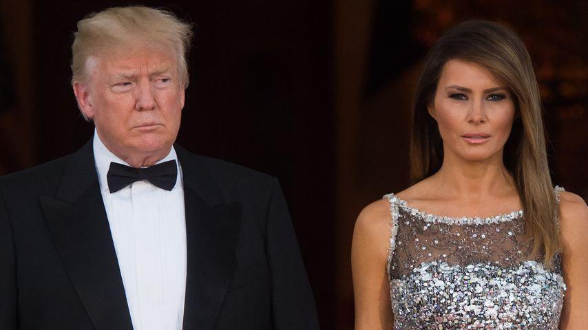 Keine Spur von Melania: Wo steckt Donald Trumps Ehefrau?