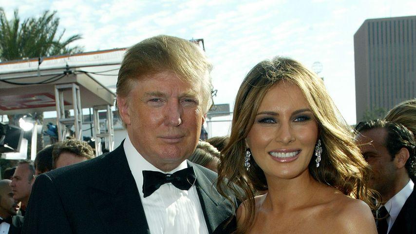 Donald und Melania Trump, 2005