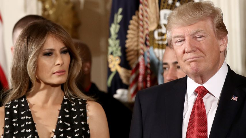 Melania lässt Donald abblitzen: Trump-Ehe kurz vor dem Aus?