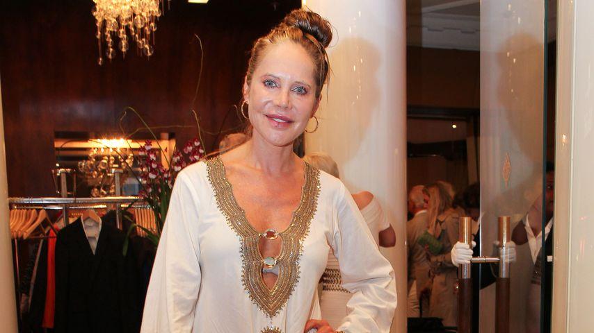Doreen Dietel beim Sommerfest Eclat Dore im Kempinksi-Hotel in München, 2017