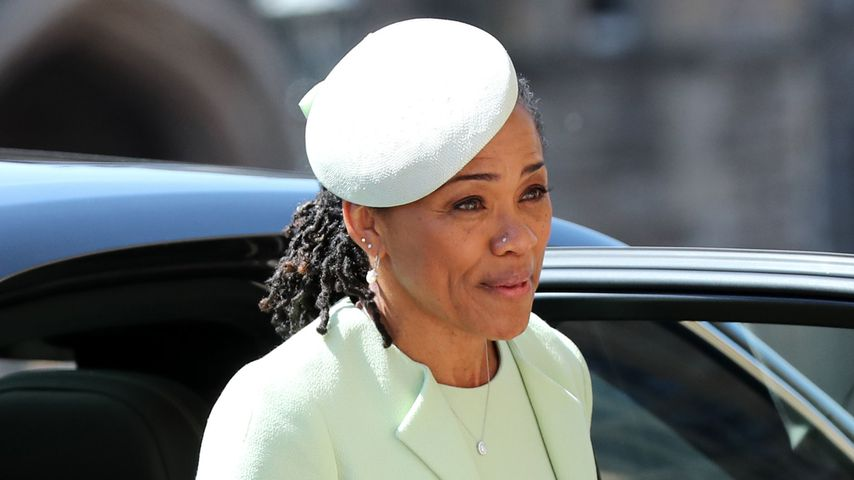 Herzogin Meghans Mutter Doria Ragland am Schloss Windsor