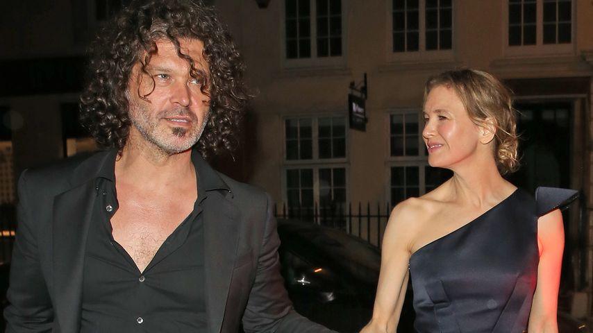 Doyle Bramhall und Renee Zellweger in London