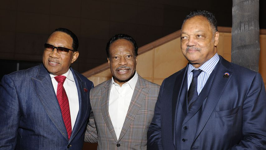 Dr. Bobby Jones, Edwin Hawkins und Reverend Jesse Jackson