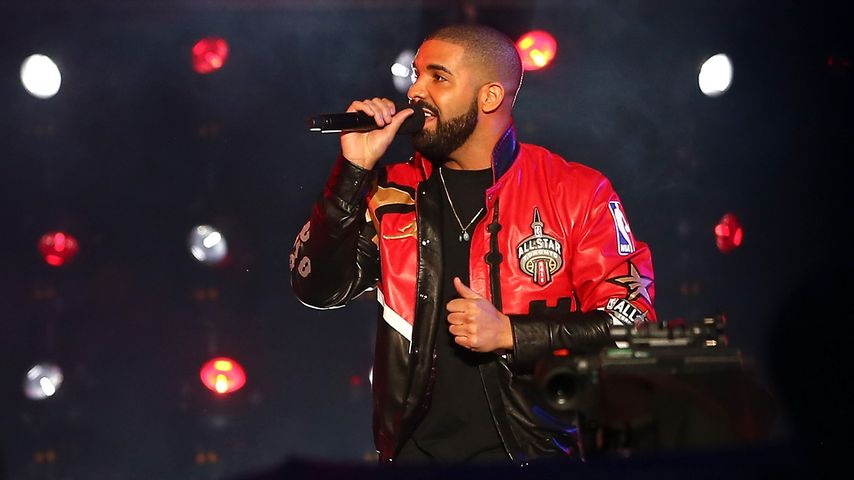 Drake beim NBA All-Star Game 2016