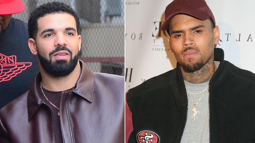 Wegen Mac Millers Tod: Drake will Versöhnung mit Chris Brown
