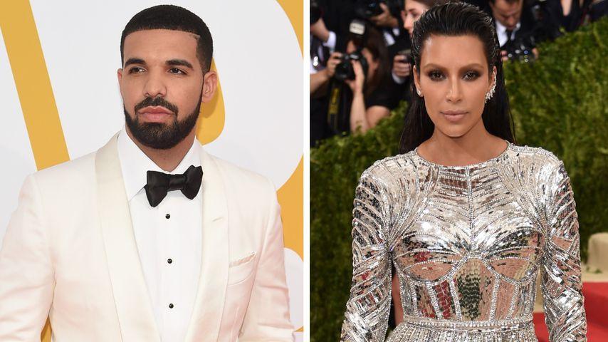Kanye-Nachfolger: Hat es Drake auf Kim Kardashian abgesehen?