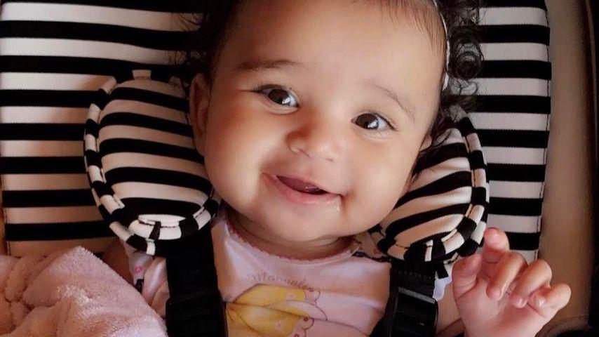 Stolze Mama Blac Chyna: Baby Dream Renee kann jetzt sitzen!