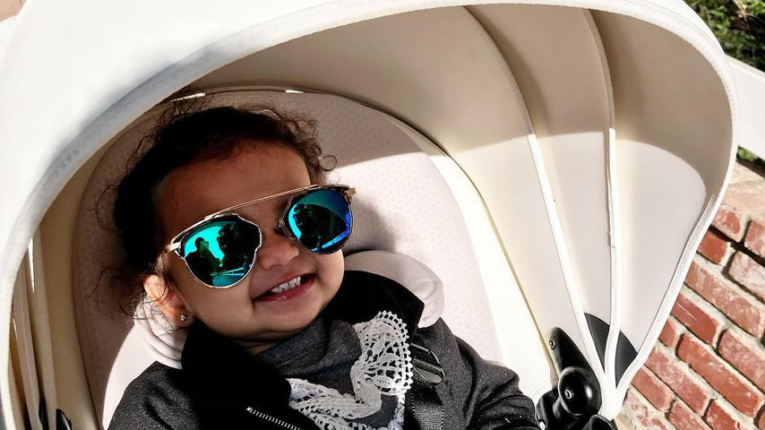 Mit Sonnenbrille: Chilliger Look bei Dream Renee Kardashian!